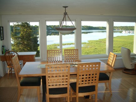 South Dennis Cape Cod vacation rental - Dining room (view from Kitchen)