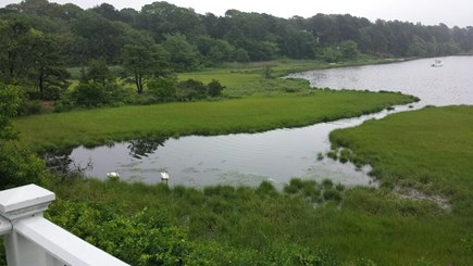 South Dennis Cape Cod vacation rental - View from deck