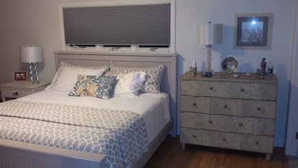 South Dennis Cape Cod vacation rental - Master bedroom on first floor