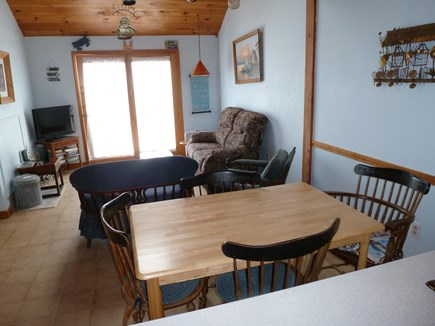 Sandwich Cape Cod vacation rental - Living room/dining room.