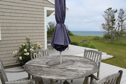 Eastham Cape Cod vacation rental - View from outdoor eating area