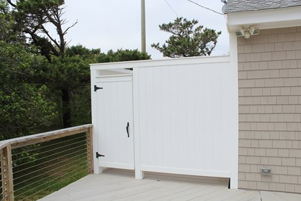 Eastham Cape Cod vacation rental - Brand new outdoor shower