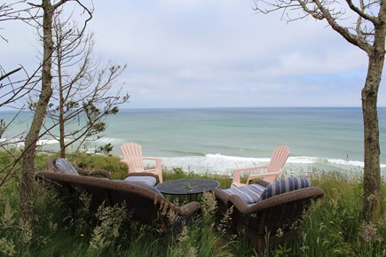Eastham Cape Cod vacation rental - Oceanfront seating area