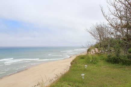 Eastham Cape Cod vacation rental - Right view up the beach