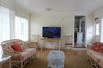 Eastham Cape Cod vacation rental - Sunroom with satellite television