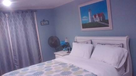Hyannis Cape Cod vacation rental - Master BR with slider door to deck