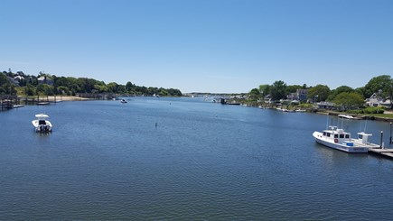 West Dennis Cape Cod vacation rental - Bass River is just a short walk. Great spot for morning coffee