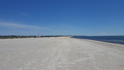 West Dennis Cape Cod vacation rental - W Dennis Beach is very kid and family friendly. Lots of room.