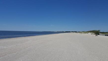 West Dennis Cape Cod vacation rental - West Dennis Beach. Wide open and sandy. Very short walk.