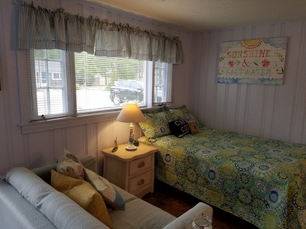 Dennis Port Cape Cod vacation rental - Double bed and love seat