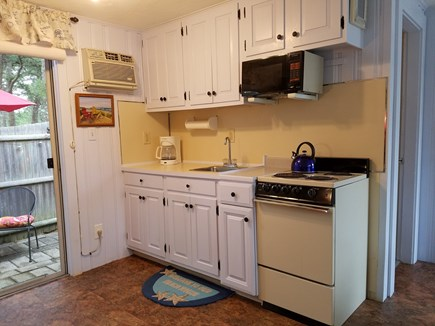 Dennis Port Cape Cod vacation rental - Small fully equipped kitchen