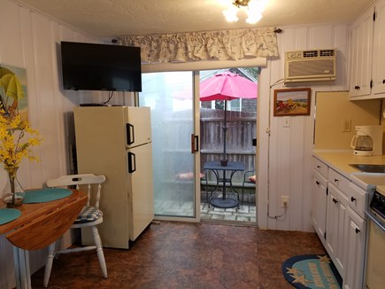 Dennis Port Cape Cod vacation rental - Eat in kitchen area opens to your private patio
