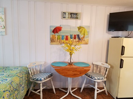 Dennis Port Cape Cod vacation rental - Cozy table for 2