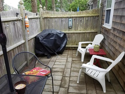 Dennis Port Cape Cod vacation rental - Private patio to grill, eat, drink or just relax