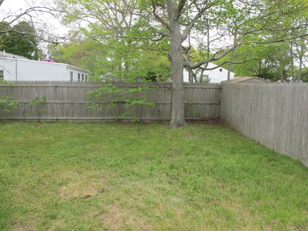 Hyannis, Barnstable Cape Cod vacation rental - Fenced Back Yard