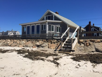 Falmouth Cape Cod vacation rental - New Silver Beachfront cottage