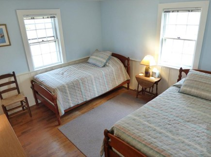 West Chatham in Hardings Beach Cape Cod vacation rental - Downstairs bedroom with two twin beds