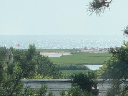 West Chatham in Hardings Beach Cape Cod vacation rental - View of Nantucket Sound from upstairs bedroom