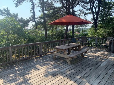 West Chatham in Hardings Beach Cape Cod vacation rental - Spacious deck