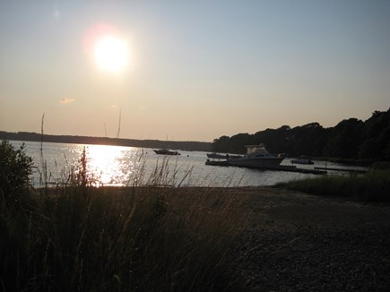 South Dennis Cape Cod vacation rental - Bay at the end of the Street, 2/10ths of a mile.