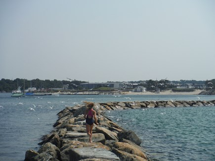 South Dennis Cape Cod vacation rental - Bayside beach jetty