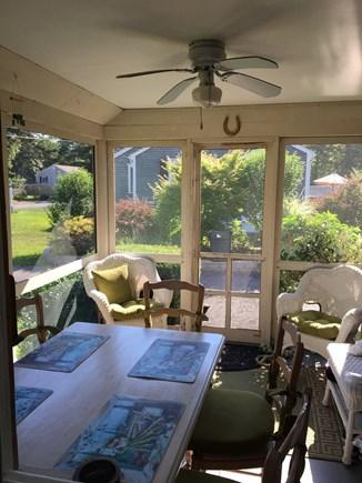 South Dennis Cape Cod vacation rental - Screen porch