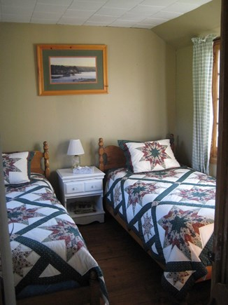 South Dennis Cape Cod vacation rental - Two Twin beds on one bedroom
