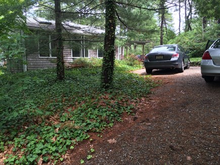 Eastham Cape Cod vacation rental - Side driveway