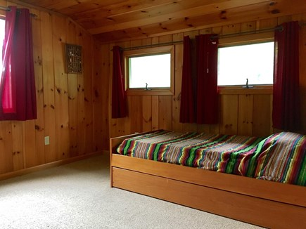 Eastham Cape Cod vacation rental - Upstairs bedroom with single trundle bed