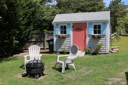 Chatham Cape Cod vacation rental - Beach shed & fire pit