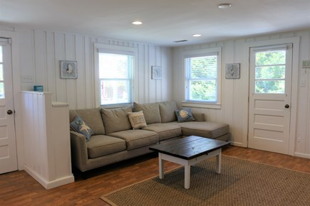 Chatham Cape Cod vacation rental - Living room couch