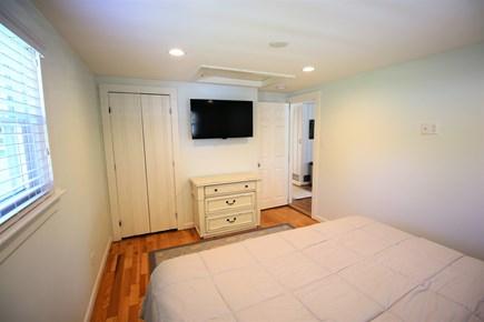 Chatham Cape Cod vacation rental - Master bedroom TV