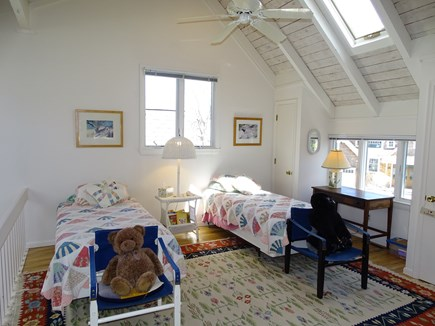 Mashpee Cape Cod vacation rental - Twin loft area with toys for kids