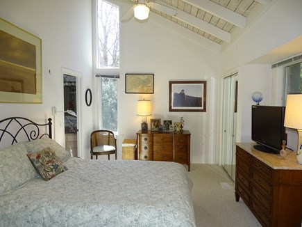 Mashpee Cape Cod vacation rental - Main floor queen master bedroom with private bath