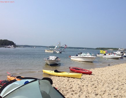 Mashpee Cape Cod vacation rental - Kayak or walk to the Spit