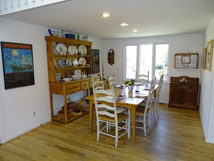 Mashpee Cape Cod vacation rental - Dining area, seating for 8