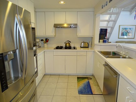 Mashpee Cape Cod vacation rental - Kitchen area with new stainless-steel appliances