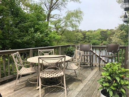Eastham Cape Cod vacation rental - Enter home from deck overlooking the pond through french doors.