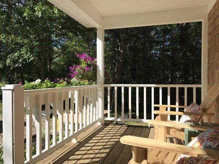 West Yarmouth Cape Cod vacation rental - Front porch in the afternoon