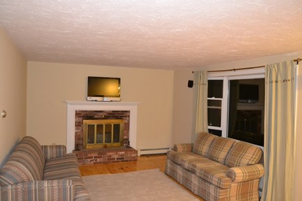 Falmouth, Teaticket Cape Cod vacation rental - Living room with sofabed