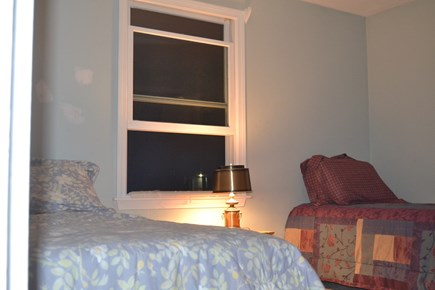Falmouth, Teaticket Cape Cod vacation rental - Downstairs Bedroom #2 with a Full & a Twin bed