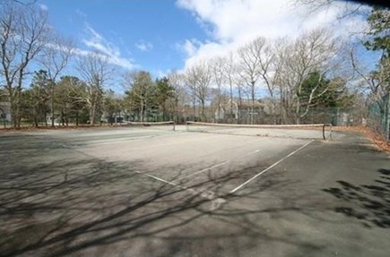 Falmouth, Teaticket Cape Cod vacation rental - Community tennis court located within walking distance