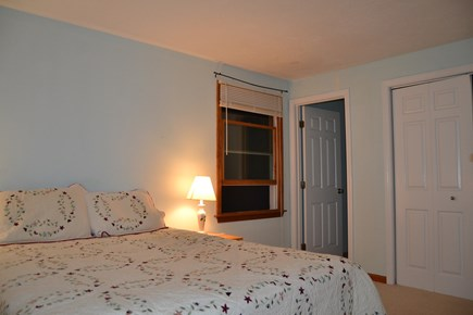 Falmouth, Teaticket Cape Cod vacation rental - Downstairs master guest room with Queen and en suite bathroom