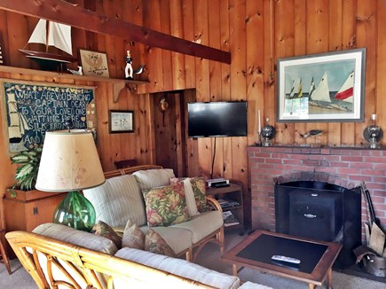 Brewster Cape Cod vacation rental - Living room left side