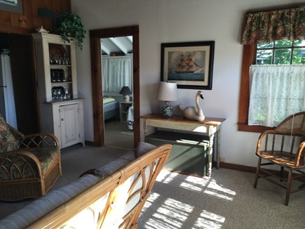 Brewster Cape Cod vacation rental - Living Room right side