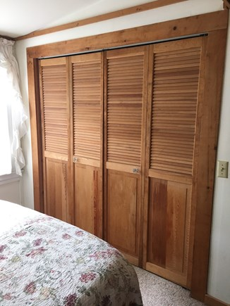 Brewster Cape Cod vacation rental - Master bedroom closet