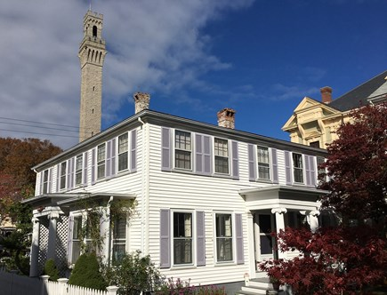 Provincetown Cape Cod vacation rental - At the base of the Pilgrim Monument and next to Town Hall
