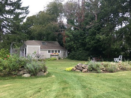 East Dennis Cape Cod vacation rental - Yard view
