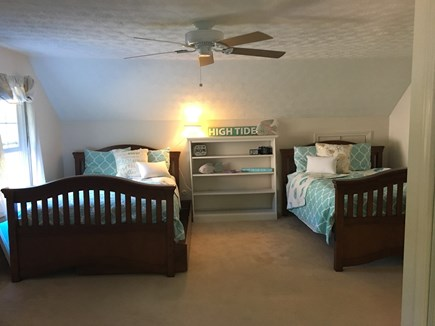 Falmouth Heights Cape Cod vacation rental - Bedroom 3 - Two Full/Doubles & One Twin Trundle