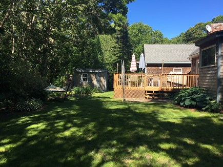 Falmouth Heights Cape Cod vacation rental - Private, landscaped backyard - Hammock (free standing)